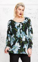 SALE - Moss - envy of angels blouse - final clearance