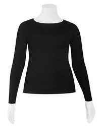 Weyre - long sleeve boat neck top