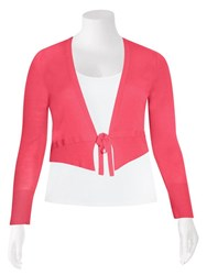FINAL SALE - Olsen - tie crop cardi