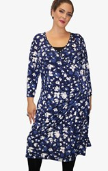 SALE - Jacki Peters - blossom wrap dress - final clearance