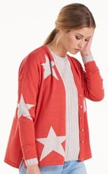 SALE - Optimum - geranium seeing stars cardi - final clearance