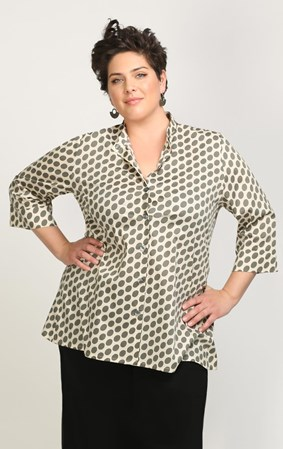 Ginger - spotted shirt