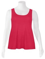 SALE - Weyre - raspberry relaxed tank