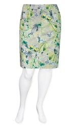 SALE - Olsen  - parrot skirt - final clearance