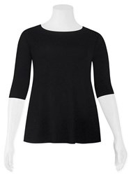 Weyre - relaxed boat neck top