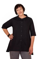 SALE - I own this ship - lucky 7 shirt in black - final clearance