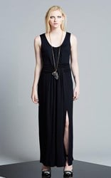 FINAL SALE - Obi - static maxi weave dress