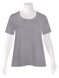 FINAL SALE - Weyre - dove tee top