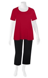 FINAL SALE - Weyre - cherry tee top