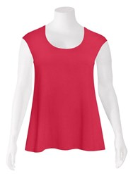 SALE - Weyre - raspberry relaxed scoop shell