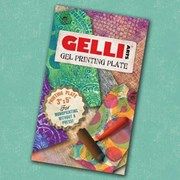 Gelli Plate - 3 by 5 inches - ATC size