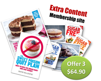 Quit Plan plus Cookbook plus 2yr subscription Bundle
