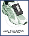 Jogalite Shoe and Belt Pocket (with Zip)