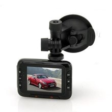 HD Car DVR Dashcam - 2.7 Inch Screen, 1080p HD, 16x Zoom, Motion Detection, G Sensor