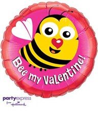Bee My Valentine! (Balloon-In-A-Box)