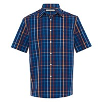 R.M. Williams Hervey Shirt - Navy Orange