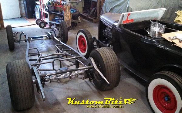 1932 Street Rod Parts : Ford hot rod chassis construction new reproduction