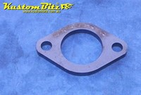 Hot Rod Chassis Crossmember Front Plate - 47 OD Tube, Diamond Round, 8mm thick