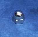 Kustom Bitz - Dome Cap Nuts UNC 3/8 inch Polished Stainless Steel
