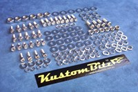Sport Compact Engine Bay dress Up - Polished Stainless Steel Metric nuts, bolts & washers [Kustom Bitz - Socket Caps]