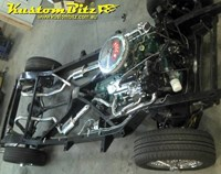 Custom Performance Exhaust ~ 2 1/2 inch Stainless Steel Exhaust System with mufflers and resonators - custom fitted