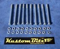 Holden V8 Bolt Kit - AussieSpeed 253 308 Valve Cover bolts only [KustomBitz Silverz]