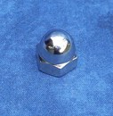 Kustom Bitz - Dome Cap Nuts UNC 1/2 inch Polished Stainless Steel
