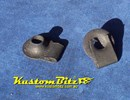 Speed Nuts 5/16 UNC thread - J Nut fastener for body Panels Black mild steel - Holden Style