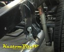 Exhaust hanger - Top Drop - Top pipe attach - 4 Bolt design - for 2 1/2