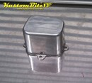 Auto Electrical relay cover - AussieSpeed Flat Top Polished