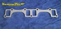 Header Plate Extractor Head Side Flange 10mm - Buick Small Block 350 Stainless Steel