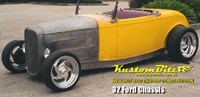 Ford Hot Rod Chassis construction 1932 new reproduction Street Rod chassis with IFS