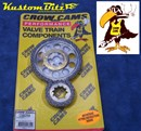 Chevy 350 V8 Timing Chain Set [all smalll block chev] - Double Row True Roller Multiple keyed