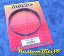 Plastic Air Cleaner Spacer riser ring, 1/2 inch tall, 4 barrel, 5 1/8 inch Holley - Torco