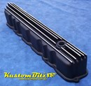 Ford Pre-crossflow valve cover - Finned Black