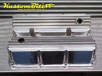 Ford 302 351 Cleveland Rocker Covers AussieSpeed - Finned Polished