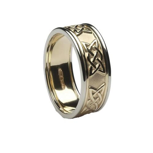 ID213 NEW LOVER'S KNOT BAND ,Stunning new ring to our range with the lovers knot