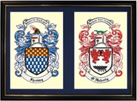 A3 Double coat of arms