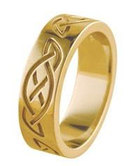 ID326 Eternity ,his beautiful ring is brand new to our range, it is perfect for a man who prefers a traditional wedding ring, with subtle celtic symbolism.