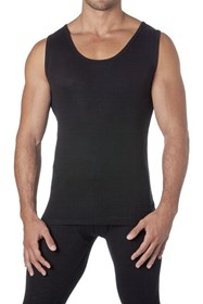 Baselayers 100% Merino Wool Men's Thermal Vest