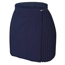 large sizes - single pleat skirt - prestalene