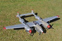 FMS P-38 Lightning Radio Remote Control Electric RC Warbird Airplane ( ARF )