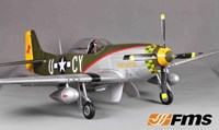 "FMS V7 P-51 Mustang ""GUNFIGHTER"" Brushless Warbird - ARF"