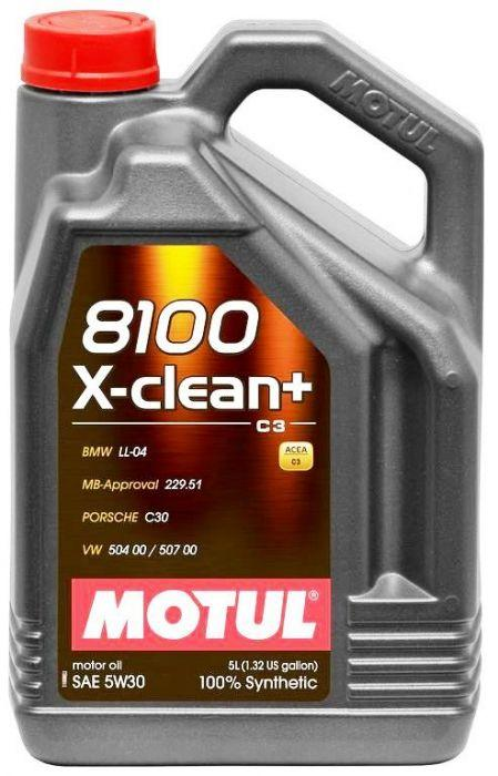 motul 8100 x clean 5w 30 synthetic oil 5l autosphere. Black Bedroom Furniture Sets. Home Design Ideas