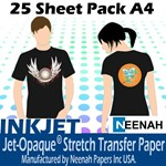 Jet Pro Opaque Darkwear Paper A4 25 Pack