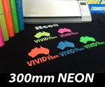 NEON 300mm Vivid Flex Heat Transfer Vinyl per metre