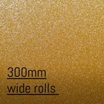 Avery SWF Diamond Glitter Gold Adhesive Vinyl 300mm wide per metre