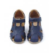 Walnut Shoes - WILL CLOSED TOE SANDALS [NAVY]