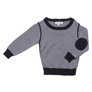Fox & Finch - DRESSY STRIPE JUMPER [NAVY/WHITE]