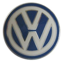 Genuine 'VW' Key Fob Emblem - 14mm